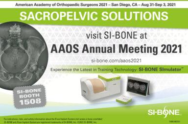 AAOS 2021--SI-BONE Booth #1508