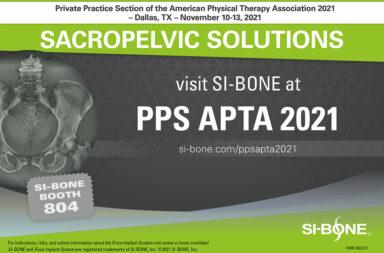 PPS APTA 2021 -- SI-BONE Booth #804