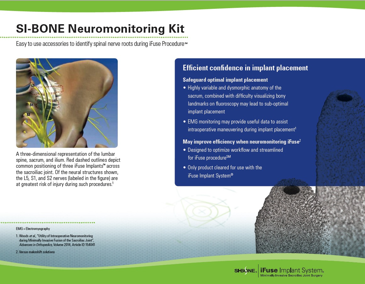 iFuse Neuromonitoring Kit
